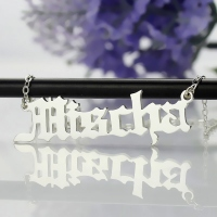 Mens Letter Necklace
