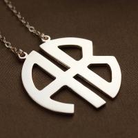 Monogram Name Necklace