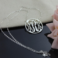 Necklace with Kids Initials