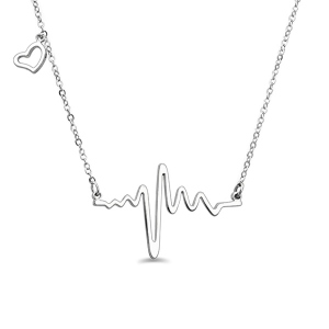 Heart Beat Necklace 16
