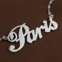 Silver Name Jewelry