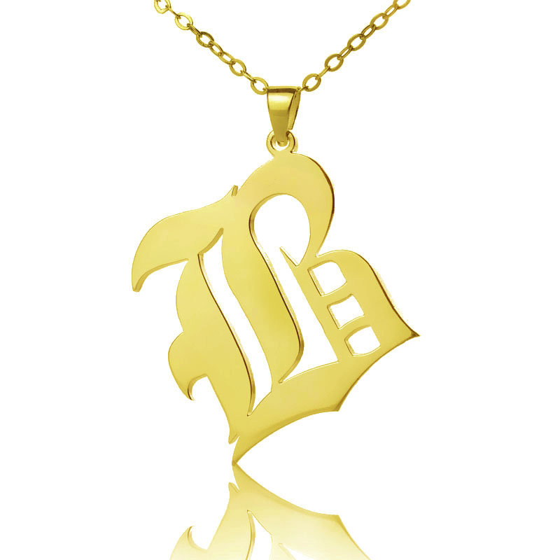 imageedit english lyla necklace in old bo products sterling initial