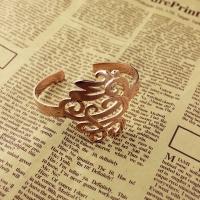 Monogram Cuff Bracelet Hand Writing Rose Gold
