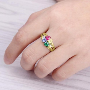 ring with birthstones
