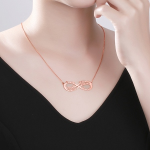 infinity symbol necklace
