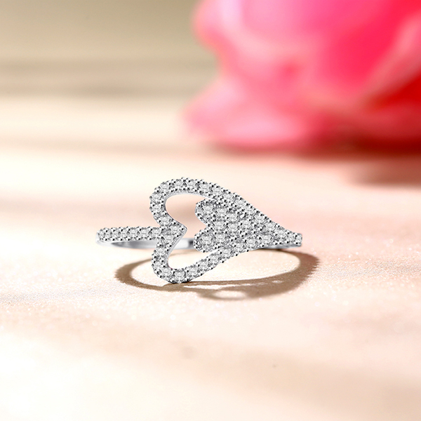 heart in heart ring