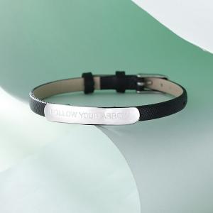 Bar Leather Bracelet