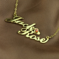 name necklace carrie