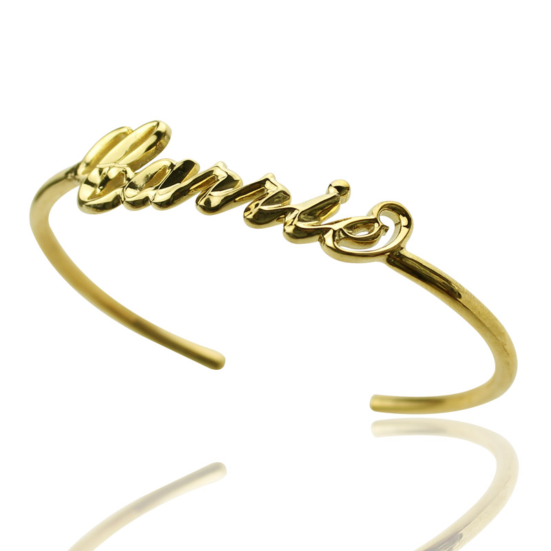 item bangle fashion jewelry yellow smooth filled bracelet gold arrive bangles