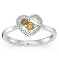 Forever in My Heart Gemstone Promise Ring