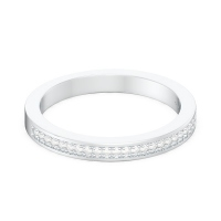 Pavé Milgrain Wedding Ring