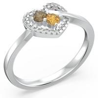 Forever In My Heart Gemstone Ring