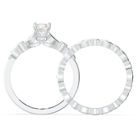 Solitaire Gemstone Bridal Set