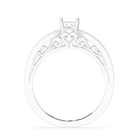 Tacori Solitaire Engagement Ring